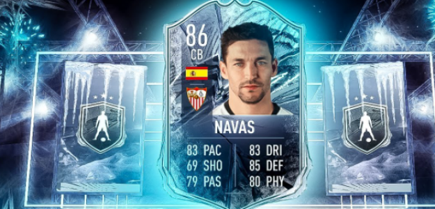 """Jesús Navas, el central de 86 que todos quieren en FIFA 21 """"Foto: YouTube"""""""