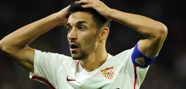 """El problema del Sevilla FC en su lateral derecho """"Foto: Marca"""""""