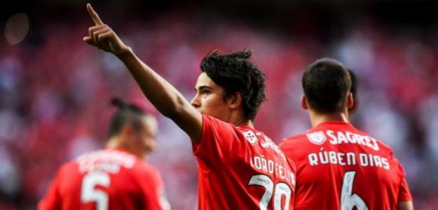 Joao Félix, celebrando un gol / twitter
