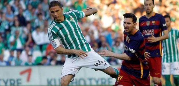 """Joaquín se coloca a la altura de Leo Messi """"Foto: BeSoccer"""""""