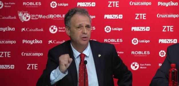 Joaquín Caparrós en rueda de prensa. Foto: Youtube.com