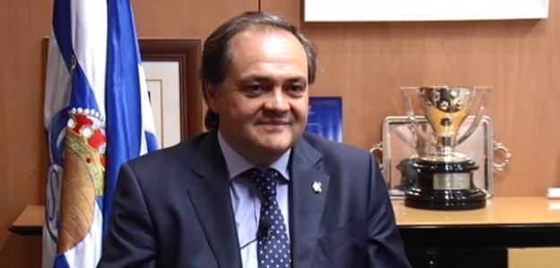 Jokin Aperribay, presidente de la Real / eitb.eus