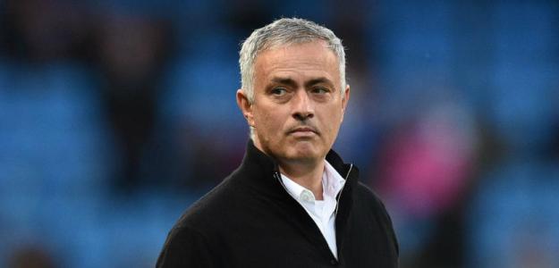 Mourinho en un partido / United
