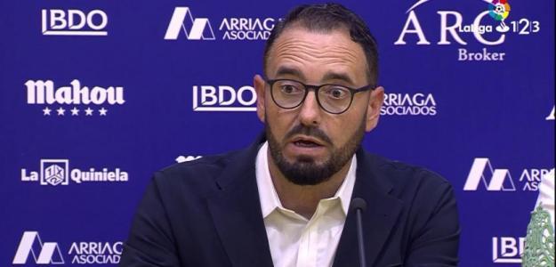 José Bordalás, entrenador del Getafe. Foto: Laliga.es