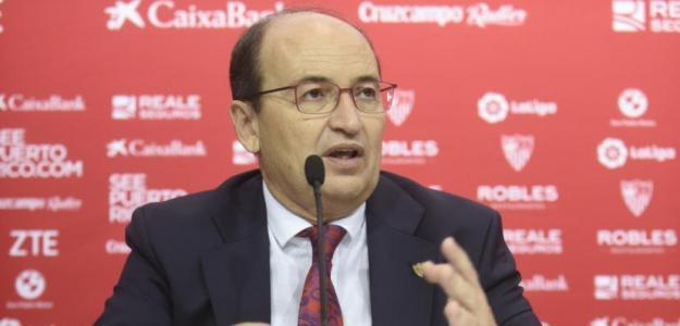 José Castro presidente del Sevilla. Foto: Sevillafc.es