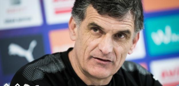José Luis Mendilibar, técnico del Eibar. Foto: SDEibar.es