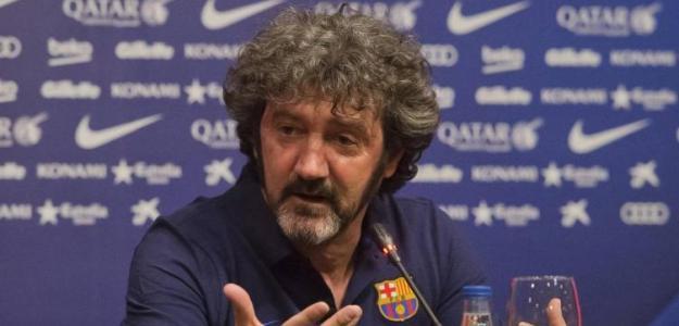 José María Bakero, secretario técnico del fútbol formativo del club azulgrana. Foto: FCBarcelona.es