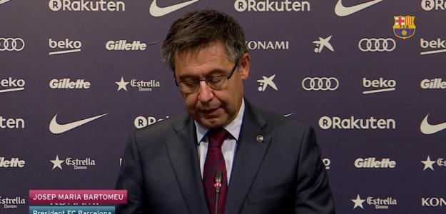 Josep María Bartomeu, presidente del Barça. Foto: FCBarcelona.es