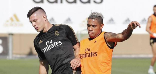Jovic no mejora el rendimiento de Mariano. Foto: As