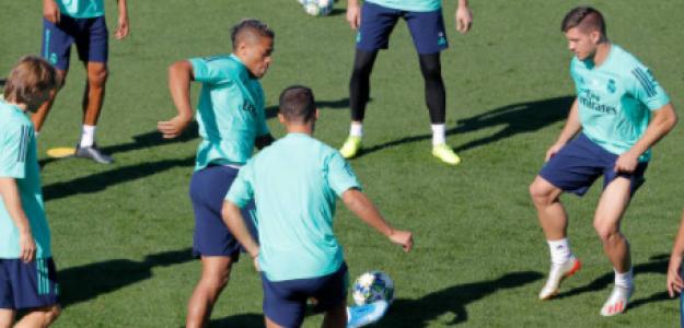 """""""Los tres jugadores que lucharán para quedarse en el Real Madrid. Foto: Getty Images"""""""