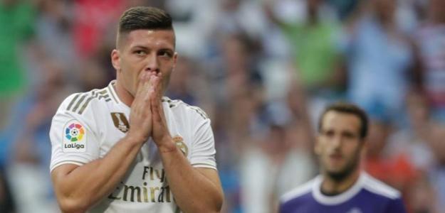 Luka Jovic ni está ni se le espera en el Real Madrid