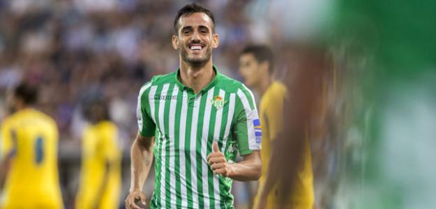 Juanmi Jiménez ya brilla con el Real Betis