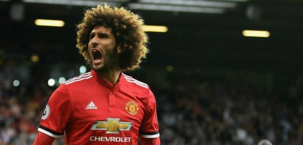 Fellaini en un partido con el Manchester United. / gestion.pe