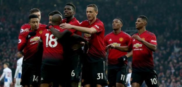 Jugadores del Manchester United / EFE