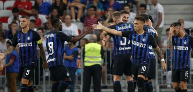 Jugadores del Inter de Milán. Foto: Latercera.com