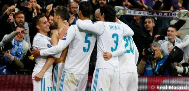 Jugadores del Real Madrid. Foto: RealMadrid.com