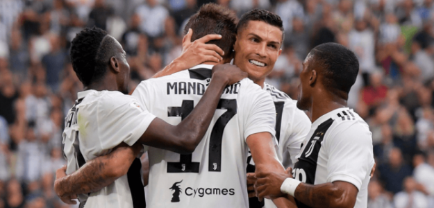 Juventus, celebrando un gol esta temporada / twitter