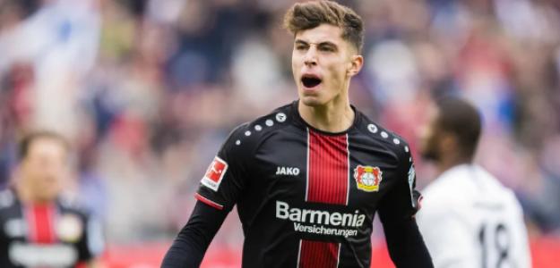 """Continúa la batalla en la Premier League por Kai Havertz """"Foto: Bundesliga"""""""