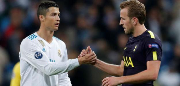 Kane y Ronaldo formarían parte de esta delantera soñada