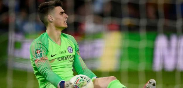 Kepa Arrizabalaga con menos opciones que nunca de seguir en el Chelsea. Foto: El Español