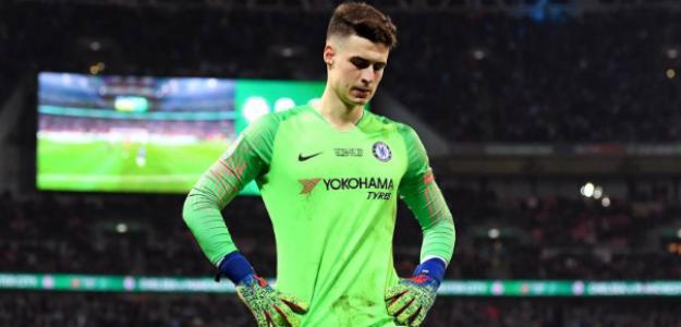 El Chelsea ya busca reemplazo a Kepa