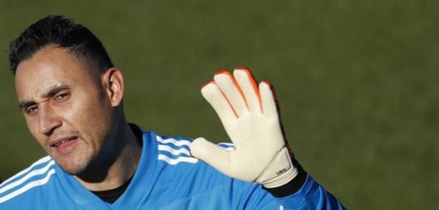 Keylor Navas en un entrenamiento con el Real Madrid. / rtve.es