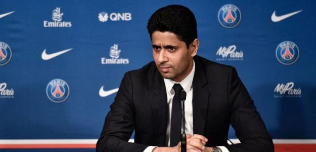 Nasser Al-Khelaïfi, presidente del PSG / twitter.