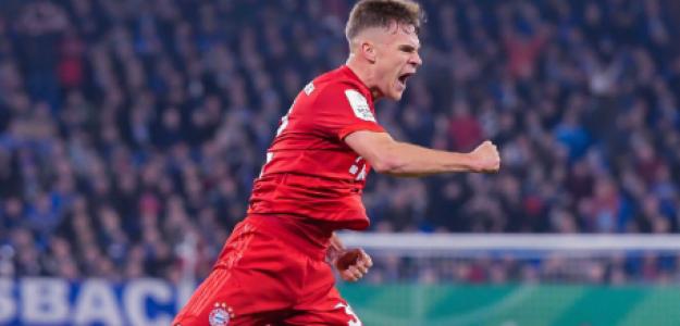 "Josua Kimmich es el mejor mediocampista del mundo ""Foto: FC Bayern"""