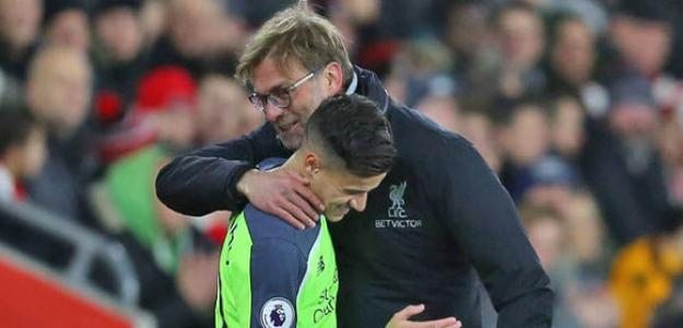 Klopp empujó a Coutinho al Bayern / Express.co.uk