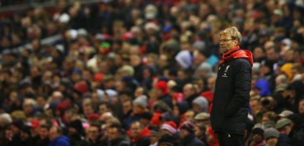 Klopp durante un partido del Liverpool. / liverpooloffside.sbnation.com