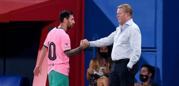 Koeman no se puede sentar en el banquillo del Barça en partidos oficiales