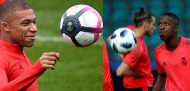 """Dilema en el Real Madrid: ¿Merece la pena perder a Vinícius por Mbappé? """"Foto: BeSoccer"""""""