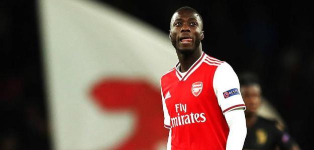 La mala situación de Nicolas Pépé en el Arsenal / Elintra.com