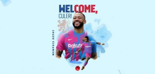 La opción del Barcelona para retener a Memphis Depay / FCBarcelona.com