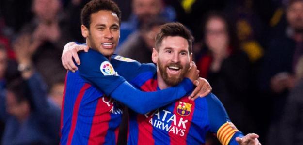 La petición de Messi a Neymar / Daily Mail