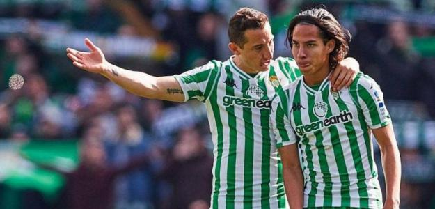 Lainez se harta de su situación en el Real Betis