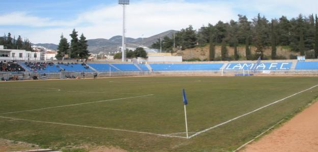 Con o sin pandemia, en el estadio del Lamia entran 5.000 personas...