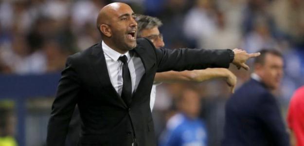 Abelardo durante un partido. / lavozdeasturias.es