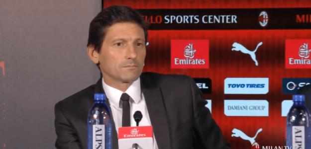 Leonardo Nascimento de Araújo, director deportivo del Milán. Foto: ACMilan.com
