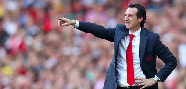 Emery en un partido con el Arsenal. / independent.ie