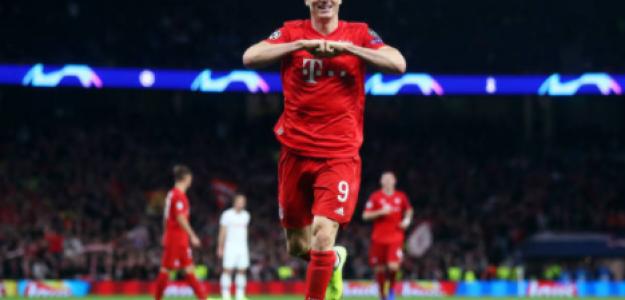 """""""La recompensa del Bayern con Lewandowski./ Foto: Getty Images"""""""