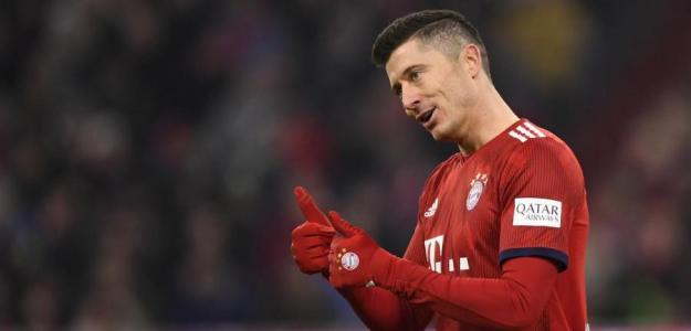 Lewandowski, ¿fuera del Bayern rumbo a la MLS? Foto: onet.com
