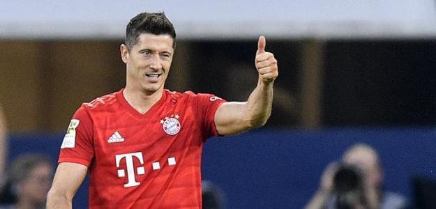 El goleador de Europa hasta el momento, Robert Lewandowski