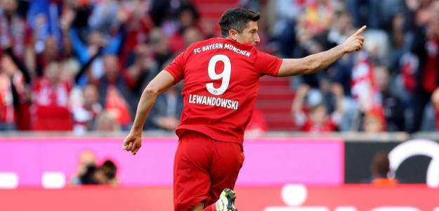 Los demoledores números de Robert Lewandowski en el Bayern