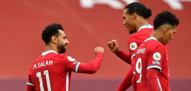 El Liverpool prioriza una renovación antes que la de Salah. Foto: 90min.com