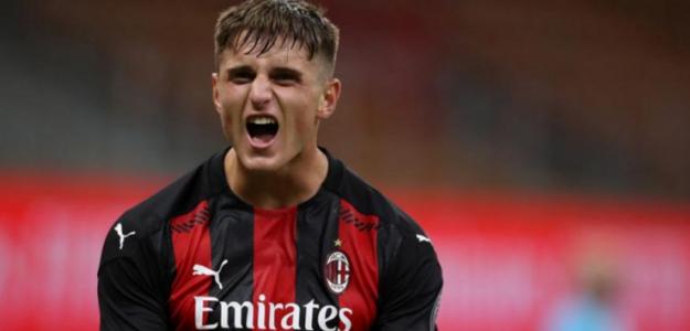 """Lorenzo Colombo: ha nacido una estrella en el AC Milan """"Foto: AS"""""""