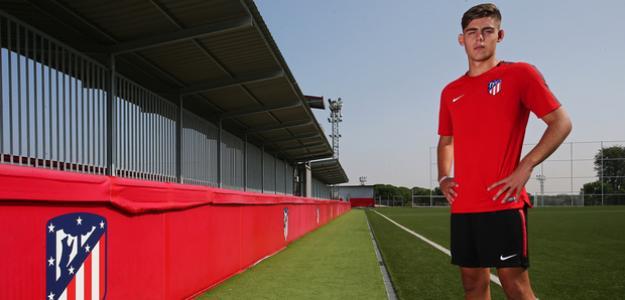 Montero, en una foto oficial del club (Atlético de Madrid)