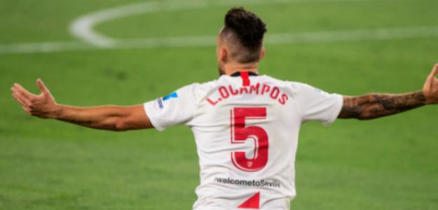 """Este no es el mismo Lucas Ocampos que fichó el Sevilla FC """"Foto: Estadio Deportivo"""""""