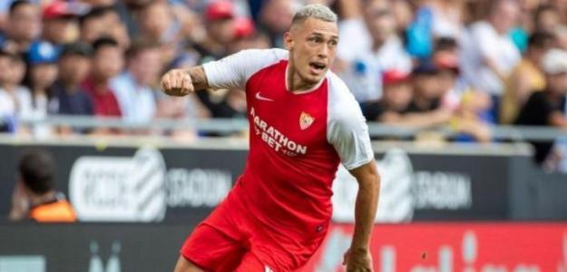 Lucas Ocampos, objetivo del Everton