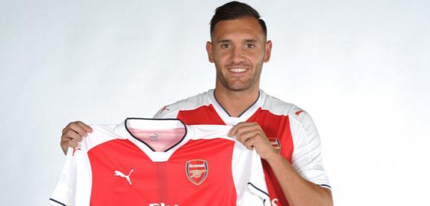 Lucas Pérez. Foto: Arsenal FC